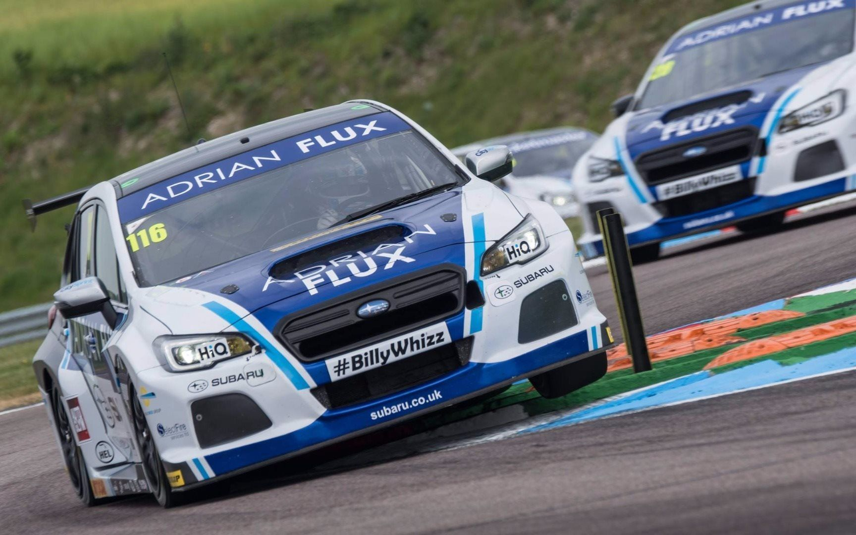 THRUXTON SUBARU RACE REPORT